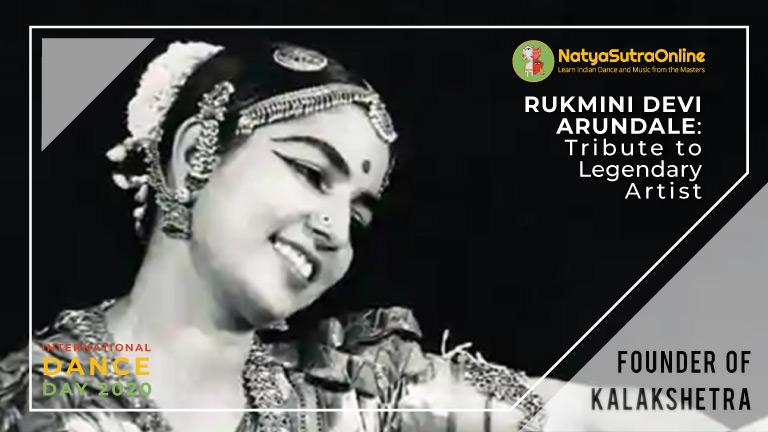 A tribute to exponent Rukmini Devi Arundale