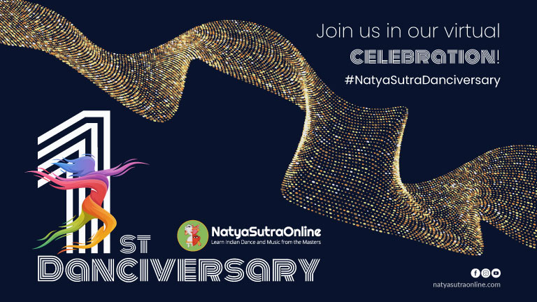 NatyaSutraOnline turns one!